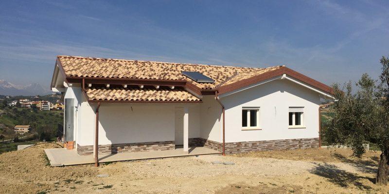 Casa in Legno a Spoltore (PE) - Timberg - Tetti in legno e ...