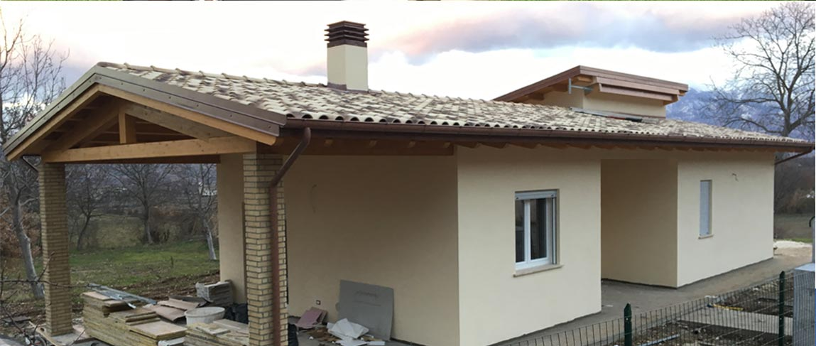 casa in legno a bugnara
