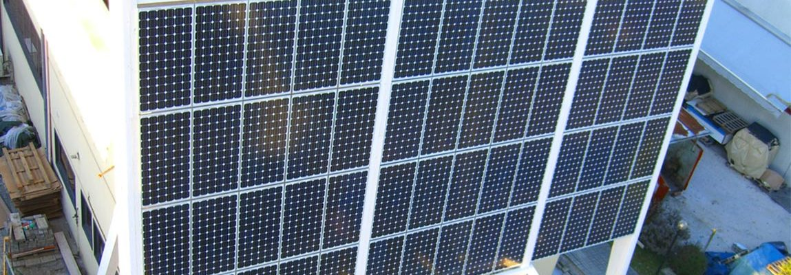 vela fotovoltaica in legno