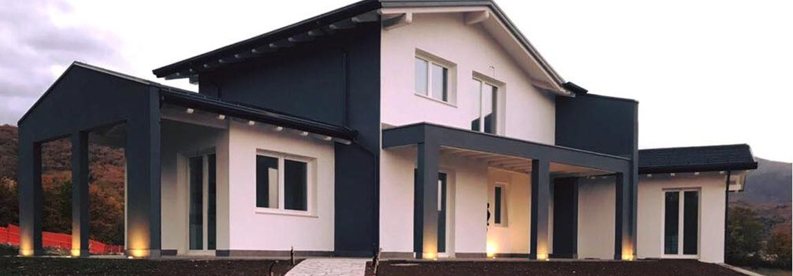 villa in legno a l'aquila
